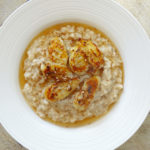 Daddelicious - Banana and sesame seed porridge - baby friendly porridge