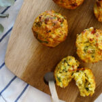 Daddelicious - Cheesy vegetable muffins - baby snack ideas