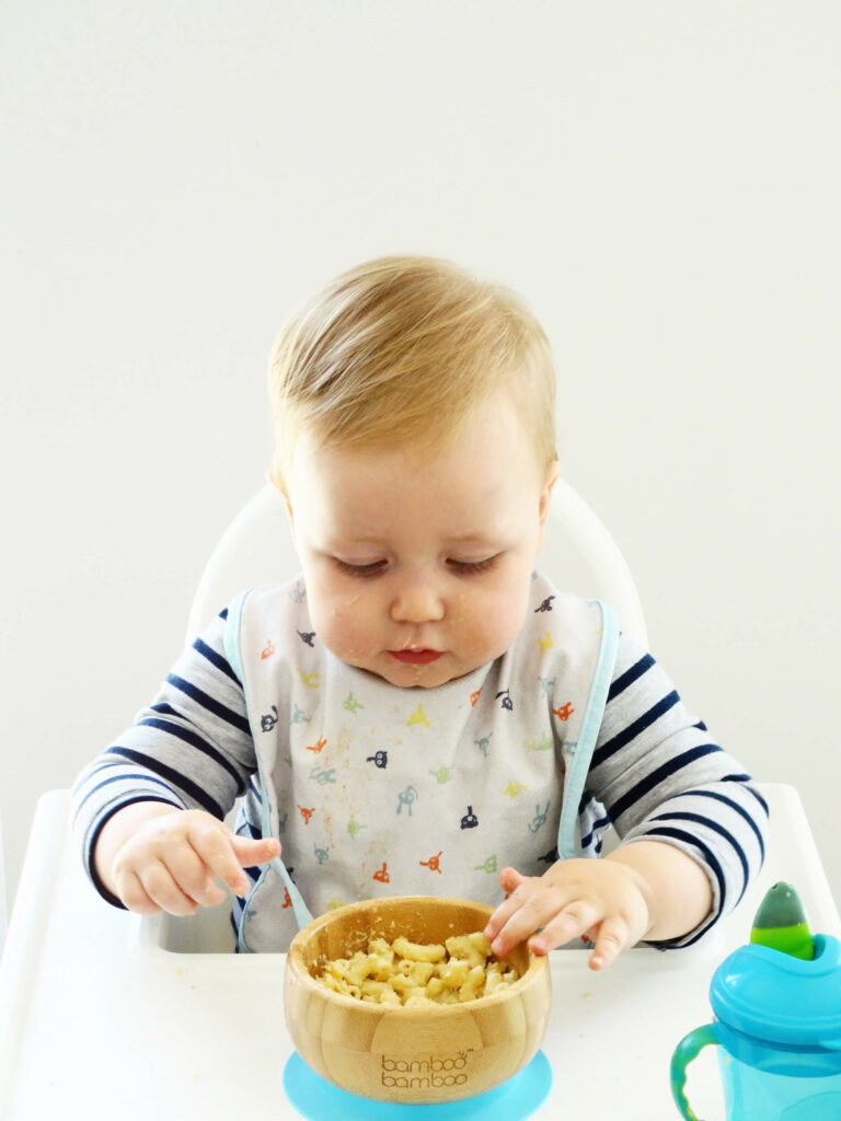 Daddelicious - Healthy vegetable mac & cheese - baby food recipe